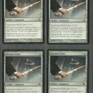 Wooden Stake x4 NM Innistrad Magic the Gathering