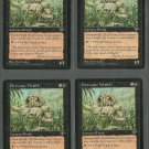 Dirtwater Wraith x4 NM Mirage Magic the Gathering