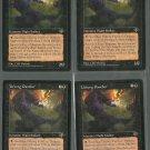 Urborg Panther x4 NM Mirage Magic the Gathering