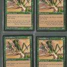 Giant Mantis x4 - NM - Mirage - Magic the Gathering