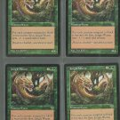 Jungle Wurm x4 NM Mirage Magic the Gathering