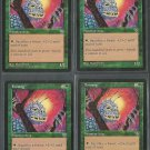 Foratog x4 NM Mirage Magic the Gathering