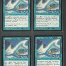 Tidal Wave x4 NM Mirage Magic the Gathering