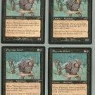 Phyrexian Driver x4 NM Nemesis Magic the Gathering
