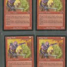 Mogg Toady x4 NM Nemesis Magic the Gathering