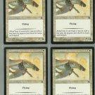 Armored Pegasus x4 NM Portal Magic the Gathering