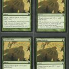 Giant Growth x4 NM Return to Ravnica Magic the Gathering