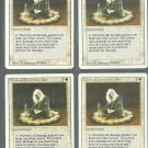 Circle of Protection Blue x4 - NM - Revised - Magic the Gathering