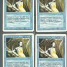 Creature Bond x4 - NM - Revised - Magic the Gathering