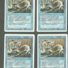 Sea Serpent x4 NM Revised Magic the Gathering