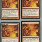 Magma Spray x4 NM Shards of Alara Magic the Gathering