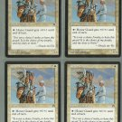 Honor Guard x4 NM Stronghold Magic the Gathering