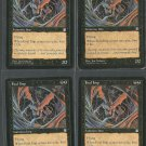 Foul Imp x4 NM Stronghold Magic the Gathering