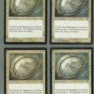 Circle of Protection Blue x4 NM Tempest Magic the Gathering