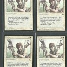 Squire x4 VG The Dark Magic the Gathering