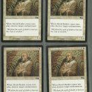 Monk Realist x4 NM Urza's Saga Magic the Gathering