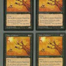 Wake of Vultures x4 NM Visions Magic the Gathering