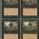 Tar Pit Warrior x4 NM Visions Magic the Gathering