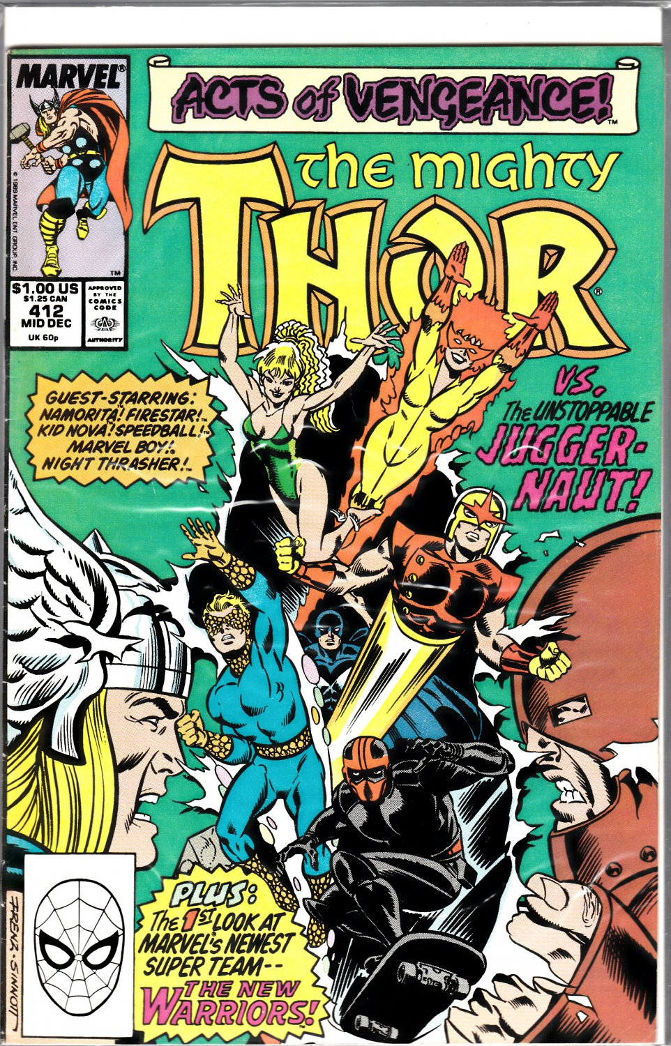 The Mighty Thor #412