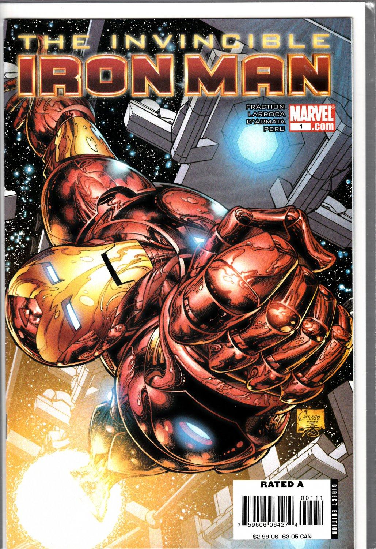 Invincible Iron Man #1A
