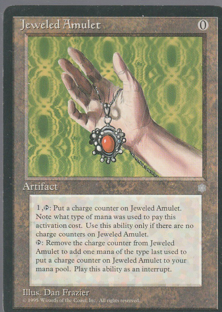 Jeweled Amulet - VG - Ice Age - Magic the Gathering