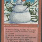 Goblin Snowman - VG - Ice Age - Magic the Gathering