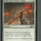 Staff of the Flame Magus - NM - Magic 2014 - Magic the Gathering