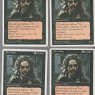 The Fallen x4 - NM - Chronicles - Magic the Gathering