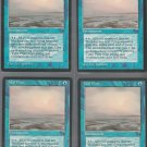 Tidal Flats V2 x4 - Good - Fallen Empires - Magic the Gathering