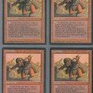 Orcish Spy V1 x4 - Good - Fallen Empires - Magic the Gathering