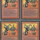 Goblin War Drums V1 x4 - Good - Fallen Empires - Magic the Gathering