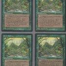 Elven Fortress V3 x4 - Good - Fallen Empires - Magic the Gathering