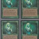 Elvish Scout V1 x4 - Good - Fallen Empires - Magic the Gathering