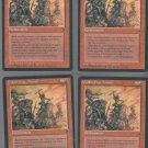 Goblin War Drums V2 x4 - Good - Fallen Empires - Magic the Gathering