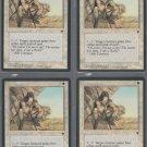 Icatian Scout V3 x4 - Good - Fallen Empires - Magic the Gathering