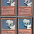 Mountain Goat x4 - Good - Ice Age - Magic the Gathering