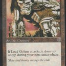 Lead Golem - VG - Mirage - Magic the Gathering