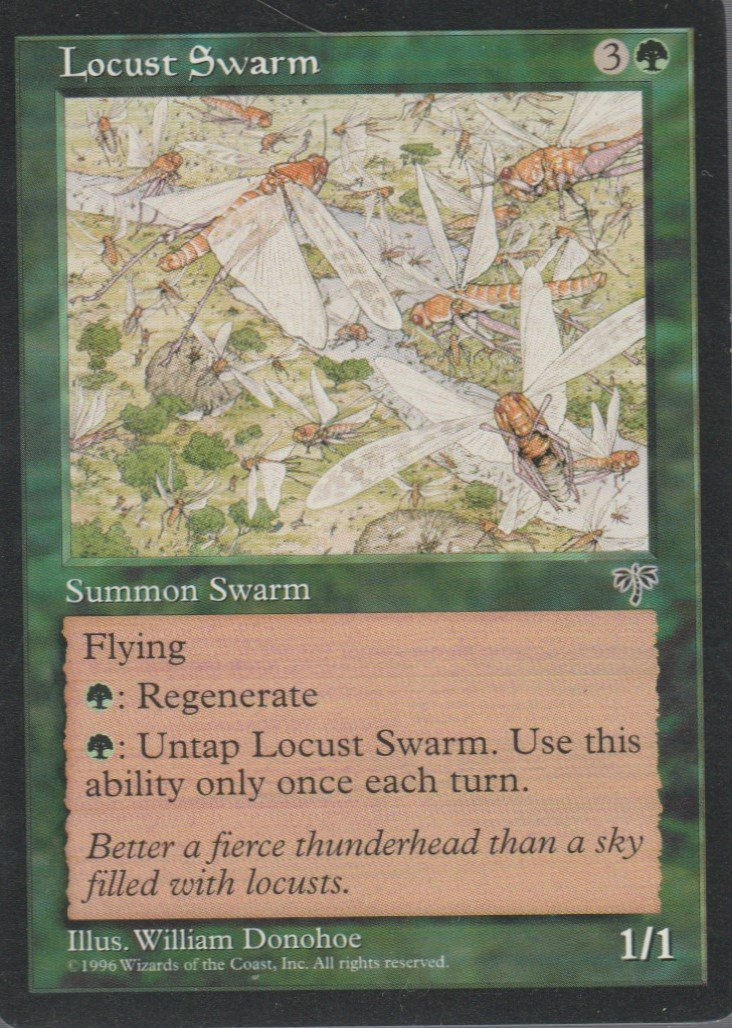 Locust Swarm - Good - Mirage - Magic the Gathering