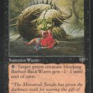 Barbed-Black Wurm - Good - Mirage - Magic the Gathering