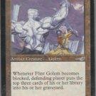 Flint Golem - VG - Nemesis - Magic the Gathering