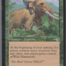Wild Mammoth - VG - Nemesis - Magic the Gathering