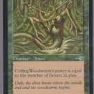 Coiling Woodworm - VG - Nemesis - Magic the Gathering