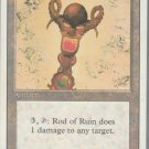 Rod of Ruin - VG - Revised- Magic the Gathering
