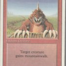 Burrowing - VG - Revised- Magic the Gathering