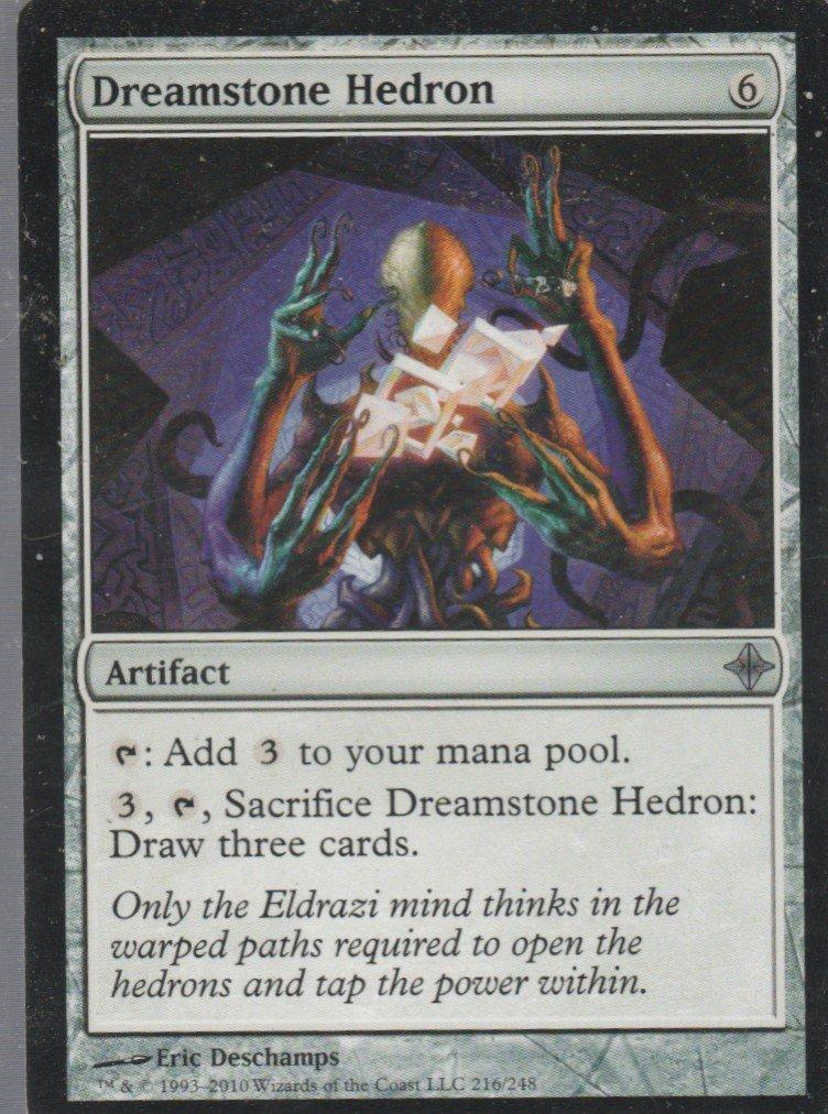 Dreamstone Hedron - VG - Rise of the Eldrazi- Magic the Gathering