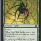 Acid Web Spider - VG - Scars of Mirrodin - Magic the Gathering