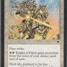 Knight of Dawn - VG - Tempest - Magic the Gathering