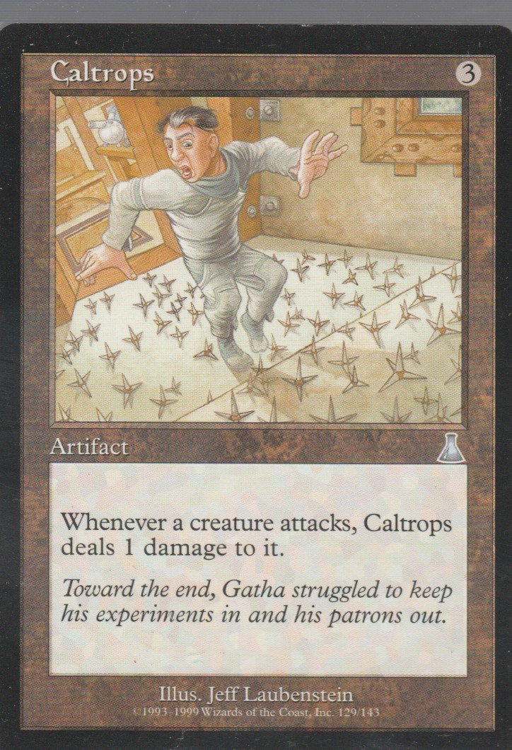 Caltrops - NM - Urzas Destiny - Magic the Gathering