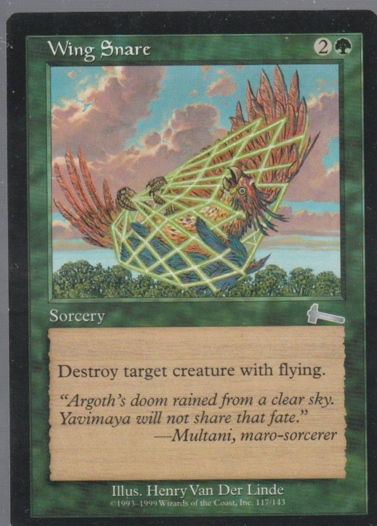 Wing Snare - NM - Urzas Legacy - Magic the Gathering