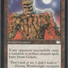 Straw Golem - VG - Weatherlight - Magic the Gathering
